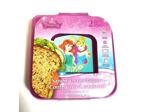 Disney Princess Sandwich Containers