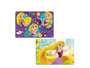 Disney Rapunzel Girls 3D Table Mat Placemat Reusable Washable,BPA Free