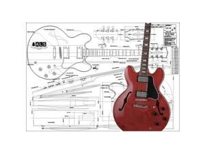 Crossrock End-Bound Style-Electric Guitar Multi-ply Wood Case in Vinyl Tweed CRW600ETW-2