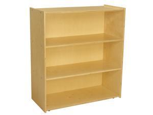 Childcraft ABC Furnishings 3-Shelf Deep Shelf Storage Units, 36 x 16 x 40 Inches