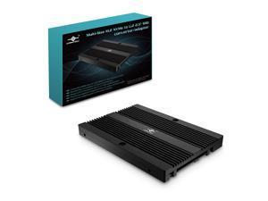 "Vantec Multi-Size M.2 NVMe to U.2 (SFF-8639) 2.5"""" SSD Adapter (MRK-NVM2U2-BK), Convert M.2 NVMe into U.2 not for SATA, Black"