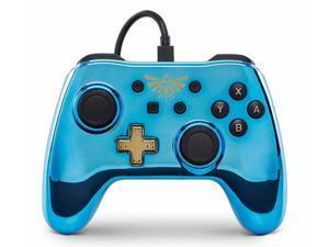 PowerA Wired Controller for Nintendo Switch - Chrome Zelda