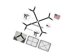 All in one Bed Sheet Straps Grippers Fasteners Clips Holder, for Mattress Covers