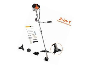 NEW 2 IN 1 42.7CC 2-Cycle Straight Shaft Gas Powred Weed Eater Weed Trimmer
