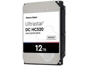 HGST WD Ultrastar DC HC520 | HUH721212AL4200 (0F29560) | 12TB 7200 RPM 4Kn SAS 12Gb/s 3.5-Inch Enterprise Hard Disk Drive