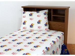 Solid by College Covers Gonzaga Printed Sheet Set Twin