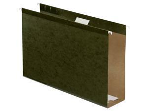 """Esselte Hanging Folder - Legal - 8.50"""" X 14"""" - 3"""" Expansion - Pressboard -"""
