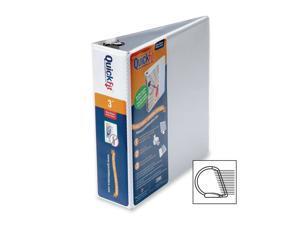 "Stride Quickfit D-ring Binder - D-ring Fastener - 3"" Binder Fastener Capacity -"