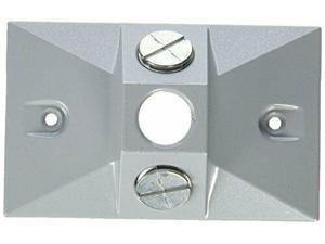 Greenfield C2GFI2PS Series Weatherproof Electrical Outlet Box Cover Gray