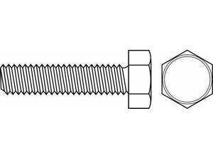 "FABORY U51016.013.0037 #6-32 x 3//8/"" Hex Head Trim Machine Screw 100 pk."