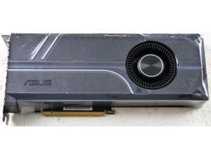 ASUS GeForce GTX 1080 Ti TURBO-GTX1080TI-11G 11GB 352-Bit GDDR5X PCI Express 3.0 HDCP Ready SLI Support DirectX 12 Video Graphics Gaming Card OEM BULK PACK => NO ACCESSORIES!