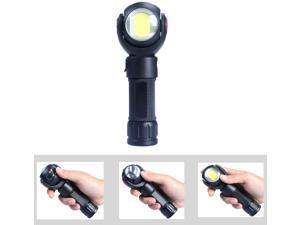 3800LM USB Rechargeable 18650 Battery Portable Torch T6 COB Flashlight 7 Modes Working Light Lamp