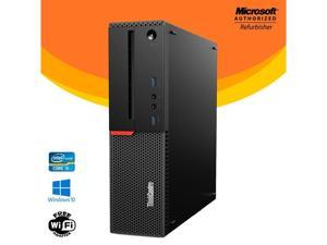 Lenovo ThinkCentre M900 Small Form Factor SFF Desktop PC Intel Core i5 6th Gen 16GB NEW 128GB SSD Windows 10 Home New Keyboard, Mouse,Power cord,WiFi Adapter