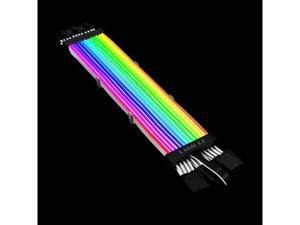LIAN LI STRIMER PLUS TRIPLE 8 PIN -- Addressable RGB VGA power cable---- Strimer plus triple 8 pins