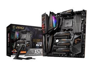 MSI MEG X570 ACE Gaming Motherboard AMD AM4 SATA 6Gb/s M.2 USB 3.2 Gen 2 Wi-Fi 6 ATX