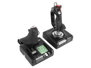Logitech (G) Saitek X52 PROFESSIONAL HOTAS throttle and joystick analog controller