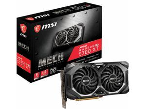 MSI - MECH OC AMD Radeon RX 5700 XT 8GB GDDR6 PCI Express 4.0 Graphics Card