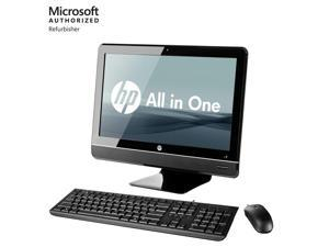 "(Refurbishe d)HP 8200 AIO 23"" LCD i5 8GB RAM 500GB Windows 10 Desktop Computer PC Webcam WiFi"