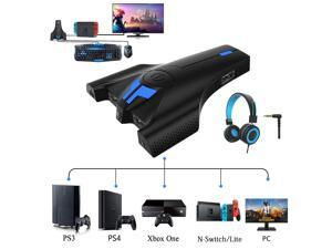 Darkwalker Fo203 Blue Switch Mechanical Gaming Keyboard And Mouse Combo Converter Adapter For Ps3 Ps4 Nintendo Switch Xbox One Newegg Com