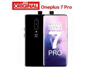 Global ROM original Oneplus 7 PRO Smart Phone Android 9 Snapdragon 855 2K AMOLED 48MP Camera 3120X1440 6GB RAM 128GB ROM(Gray)