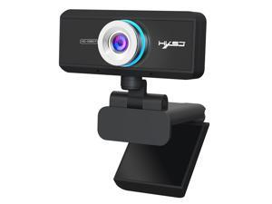 AUTENS Webcam 1080P HD Computer Camera Laptop USB PC Web Cam with Microphone, Manual Focus, 360° Rotatable Plug and Play Web Cam for Live, Video Calling, Conferencing, Chat Support MAC, Android TV