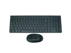 Wireless Keyboard for Lenovo US Keyboard SK-8861 and Mouse Bundle Pack 25209175, 2.4GHz Wireless Connection with USB Receiver for Windows and Linux PCs or laptops