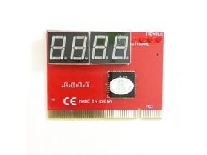 Computer PCI POST Card Motherboard LED 4 Digit Diagnostic PC Analyzer Test POST Cards Plastic Metal High Stability Express Card