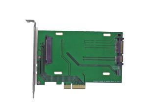 "PCIe x4 to U.2 SFF-8639 Intel 750 DC P3700 series XS1715 MZWEI1T6HAGP MZWEI800HAGM MZWEI400HAGM 2.5"" NVMe PCIe SSD adapter card"
