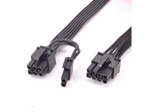 PCIe 8pin to 6+2Pin Power supply Cable GPU 8 Pin For Seasonic FOCUS PLUS Gold Platinum M12II EVO Snow Silent X Series PSU