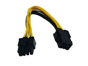 HP 6-Pin to 8-Pin Graphic Power Adapter NEW 460621-002 6-Pin-M to 8-Pin-F Cable