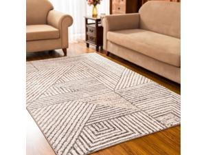 Modern Area Rugs Soft Indoor Carpets Bohemian Accent Rugs Turkish Geometric Carpet for Bedrooms, Living Rooms, Dining Rooms, Home Decor