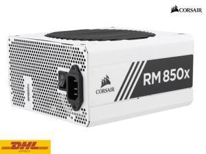 CORSAIR RMx White Series RM850x White 850W 80 PLUS Gold Certified, Fully Modular Power Supply, 10 Year Warranty
