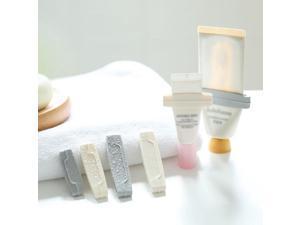 3pcs/set Bathroom Toothpaste Squeezers Tube Easy Press Toothpaste Squeezer Facial Cleanser Tube Dispenser Bathroom Gadgets