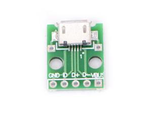 10pcs MIni USB to DIP Adapter 5pin Female Connector B Type PCB Converter