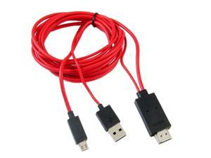 1 Pcs Micro USB To HDMI 1080P HD TV Cable Adapter For Android Phones