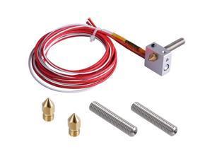 3D Drucker Teile Zubehör Hot End Montiert Extruder Kits 1,75 Mm Filament Direkte Einspeisung 12V 0,4 Mm Düse (bonus: 2 Pcs Extruder