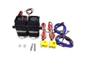 3D Drucker Teile MK8 Doppel Farbe Extruder Druckkopf 1,75 MM für Mendel Prusa Makerbot Printrbot Druckkopf für Prusa I3
