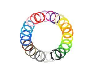 20 farben Kinder Stift 3D Drucker Stift Filament Minen Pla Umweltfreundliche Hochwertige Zeichnung Werkzeug