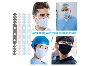 STANSTAR Mask Extension Buckle Hooks, Ear Protector Artifact, Adjustable Lengthened Mask Rope, Anti-Leak Ears to Relieve Ear Pain