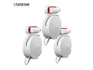STANSTAR Wall Mount for TP-Link Deco M5 Whole Home Mesh WiFi System, Sturdy Bracket Holder for TP-Link Deco M5 Space Saving TP-Link Router Wall Holder Plug in Without Messy Wires or Screws(3pack)