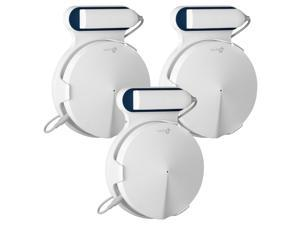 STANSTAR Wall Mount for TP-Link Deco M9 Plus Whole Home Mesh WiFi System, Sturdy Bracket Holder , Without Messy Wires(3Pack)
