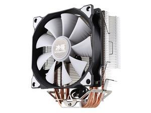 SNOWMAN CPU Cooler Master 5 Direct Contact Heatpipes freeze Tower Cooling System CPU Cooling Fan with PWM Fans LGA1150/1151/1155/1156/1366/775interface for Core I3/I5/I7/Pentium/Celeron/Xeon