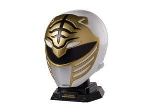 Power Rangers Legacy Mighty Morphin White Ranger Helmet Display Set