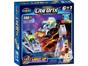 Cra-Z-Art Lite Brix 6-in-1 Lite up Explorer