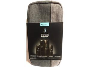 Axe For Men Gift Set - Apollo - With Toiletry Bag - 1x Antiperspirant, 1x 2 in 1 Shampoo + Conditioner, 1x Body Wash, 1x Daily Fragrance - One Gift Set