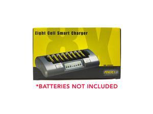 Powerex MH-C800S Eight Slot Smart Charger for AA/AAA NiMH Batteries