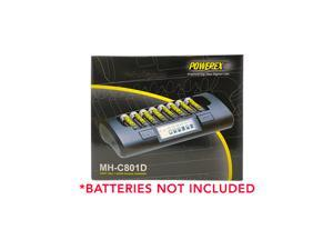 Powerex MH-C801D 8-Cell Charger for AA / AAA NiMH / NiCD Batteries & 8 AA Nimh Batteries
