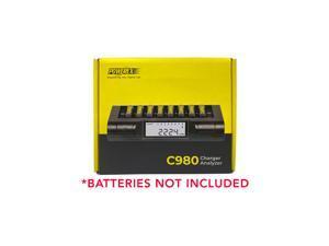 Powerex C980 8 Bay LCD Battery Charger (AA & AAA)