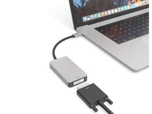 USB-C to Dual Link DVI Adapter (Designed for Apple Cinema Display)