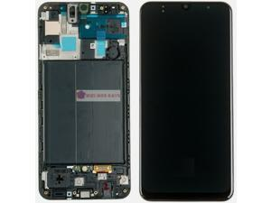 LCD Digitizer Glass Frame Screen Display Frame Replacement Part for Samsung Galaxy A50 SM-A505U SM-A505F/DS SM-A505FN/DS SM-A505GN/DS A505FM/DS SM-A505YN  SM-A505W